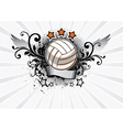 Volleyball Emblem vector image