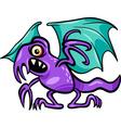 basilisk monster cartoon vector image