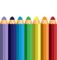 colorful pencil vector image