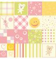 baby seamless vector image