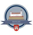 Bratislava vector image