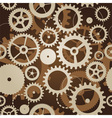 seamless pattern with cogs and gears - vector image vector image