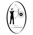 Archery vector image