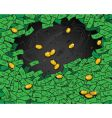 money wallpaper vector image