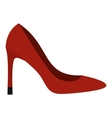 Shoe icon flat style vector image