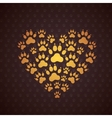 Heart of The Dog Traces vector image