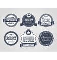 vintage labels discount labels vector image vector image