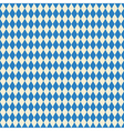 seamless texture bavarian flag vector image vector image