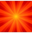 sun light background eps 8 vector image vector image