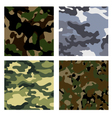 Military backgrounds vector image