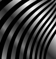 Metallic wave background vector image
