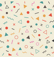 463retro hipster pattern vector image