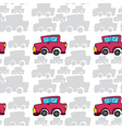 array of cars vector image