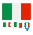 Italy country flag vector image