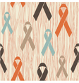 Ribbon seamless background vector image