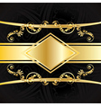 Invitation with Gold Ribbon4 vector image