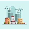 Under construction Building business vector image