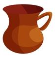 Turkish tea cup icon cartoon style vector image