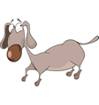 The dachshund Cartoon vector image