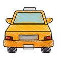 taxi service public icon vector image