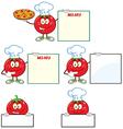 Cartoon tomato vector image
