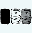 Roll of twine cord vector image