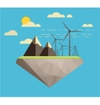 Ecology concept background vector image vector image
