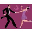 Dancing the Charleston vector image