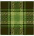 Green Tartan Pattern Design vector image