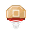 isolated basket ball vector image