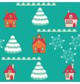 winter wallpaper vector image
