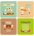 pizzeria vector image vector image
