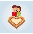 person party celebration design vector image