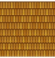 Golden wheat seamless pattern vector image