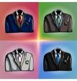 Stylized Jackets vector image