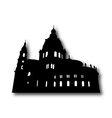 Church Silhouette vector image
