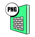 png file icon cartoon vector image
