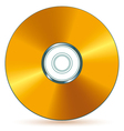 CD disk vector image vector image