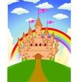 Fairy castle vector image vector image