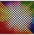 Bright multi-colored mosaic vector image