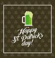 saint patric day design vector image