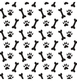 Traces of Dog vector image vector image