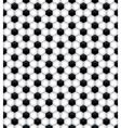 Soccer Ball Pattern Seamless Tiled Background vector image