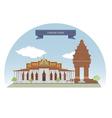 PhnomPenh vector image