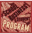 harvard business school 1 text background vector image