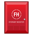 Fire Hydrant Booster Sign vector image