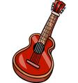 acoustic guitar cartoon clip art vector image