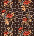 kimono wallpaper pattern vector image vector image