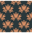 Floral seamless floral pattern vector image vector image