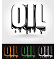 oil vector image